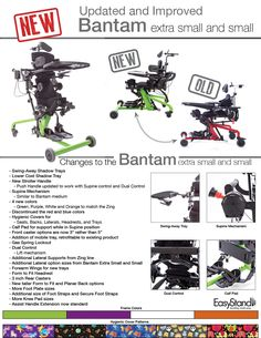 Introducing the Redesigned Bantam Extra Small and Small Pediatric Standing Frames Occupational Therapy, Physical Therapy, Wheelchair Accessories, Sit To Stand, Frame Stand, Research Studies, Medical Field, Special Needs Kids, Pediatrics