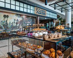 Doppio Zero restaurant design by Design Partnership. Bakery Display, Environmental Design, Interior Photography, Hospitality Design, Design Agency, Restaurant Design, Contemporary Design, South Africa, Architecture Design