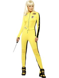 Here is Kill Bill Outfit Gallery for you. Kill Bill Outfit pin on halloween. Kill Bill Outfit the bride deluxe costume kill bill movie Halloween Villain, Halloween Dress, Halloween Costumes, Halloween Fun, Uma Thurman, Costume Kill Bill, Yellow Jumpsuit, Die Rächer, Adult Costumes