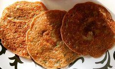Healthy chestnut flour pancakes!