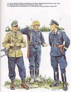 Luftwaffe, Ww2 Uniforms, German Uniforms, German Soldiers Ww2, German Army, Military Art, Military History, Eastern Front Ww2, Germany