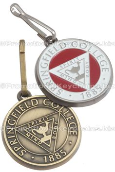 Antiqued Metal Custom Zipper Pulls