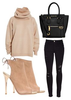 """Untitled #1750"" by fiirework ❤ liked on Polyvore featuring Frame Denim, Acne Studios, Jimmy Choo and MICHAEL Michael Kors"