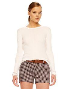 MICHAEL Michael Kors  Printed Twill Shorts.