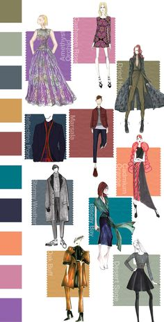 Fall '15 Displays an Evolving Color Landscape