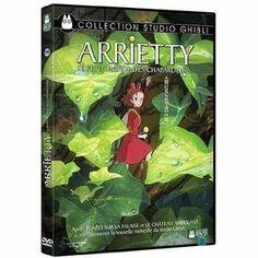DVD MANGA DVD Arrietty, le petit monde des chapardeurs