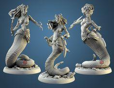 Tabletop Rpg, Tabletop Games, Werewolf, Minis, Greek Mythological Creatures, Scale, Resin, Fantasy Miniatures, Printed
