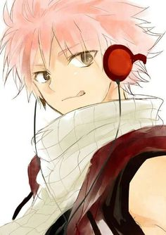 Not Just Any Anime Guy But.... NATSU! <3
