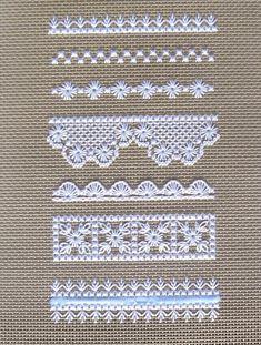 Love to Stitch 99: Hapsburg Lace Sampler: Patterns 1 - 7