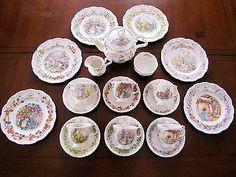Rare! Royal Doulton BRAMBLY HEDGE Tea Set: 4 Seasons, Tea pot, Birthday, Wedding