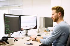 Buy Programmer working in a software developing company by on PhotoDune. Programmer working in a software developing company office Design Development, Software Development, Online Marketing, Digital Marketing, Aide Financiere, Business Model, Business Logos, Help Wanted, La Formation