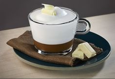 Cappuccino újragondolva fehér csokoládéval
