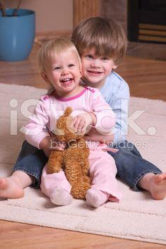 Children Playing royalty-free stock photo