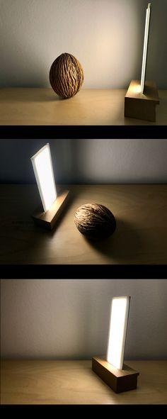OLED High Tech Desk Lamp | Future of Indoor Lighting | #oled #light #lamp #licht #gadget
