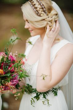 50 Shades of Bridal Braids: http://www.stylemepretty.com/collection/3594/picture/2366715/