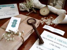 Wedding invitation - Immagine coordinata partecipazioni di nozze.