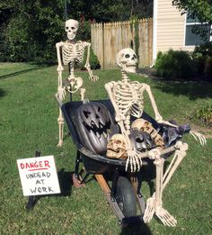 We decided to put up a teaser this week since we are not decorating until the (a week later than usual for us) Halloween Outside, Halloween Camping, Outdoor Halloween, Halloween House, Holidays Halloween, Scary Halloween, Halloween Crafts, Happy Halloween, Halloween Stuff
