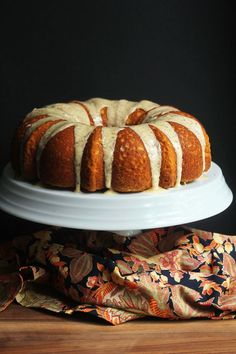 Pumpkin Pound Cake |