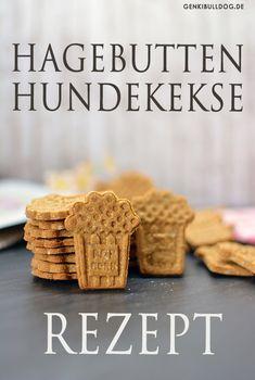 Hundekekse mit Hagebutten selbst backen Rezept auf www.Genkibulldog.de