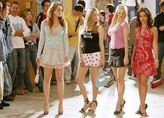 Mean Girls stage musical will be adapted into a movie by Tina Fey 90s Teen Fashion, 2000s Fashion, Women's Fashion, High School Movies, Tina Fey, Diy Costumes, Girl Quotes, Juicy Couture, Fashion Trends