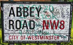 The author photographed this sign at St. John's Wood, London, outside of Abbey Road Studios, clearly a popular visiting place for Beatles fans.    Image: Kenneth Womack