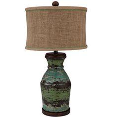 Rustic Seaside Lamp