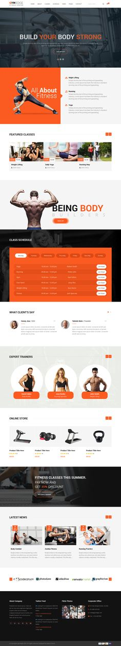 GYM Edge - Gym & Fitness HTML5 Responsive Template #site #fitness center #html5 • Download ➝ https://themeforest.net/item/gym-edge-gym-fitness-html5-responsive-template/16437678?ref=pxcr