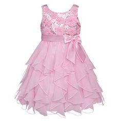 American Princess Floral Ruffle Dress - Girls 4-6x
