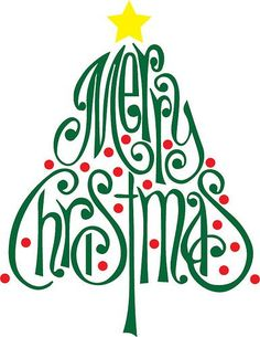 Merry Christmas Tree   The Craft Chop