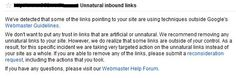 How To Remove Your Unnatural Inbound Links