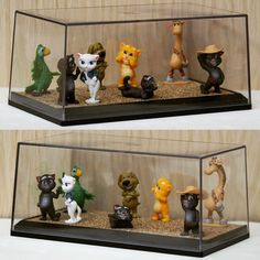 """С помощью боксов S&B CreAtive Studio можно очень эффектно оформить коллекции эксклюзивных фигурок от  Chupa Chups! Коллекция """"Говорящий Кот Том и его друзья"""" #sbbox #lego #legosimpsons #legoland #коллекционеры #коллекции #коллекционирование #legosimpsonsminifigures #minifigures #megabloks #megabloksminions #megablokscollector #megabloksworldwide #minions #minionlove #minifigures #minions2015 #legostagram #legoland #minionslove #legocars #megabloksminions #megablokscollector #chupachups…"""