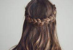Frisyre: Fin flette til Party Hairstyles, Cute Hairstyles, Braided Hairstyles, Haircut For Thick Hair, Nail Trends, Hair Inspo, Short Hair Cuts, Braids, Hair Beauty