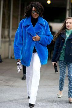 Street style les looks du public des défilés automne hiver 2015 2016 - L'Express Styles