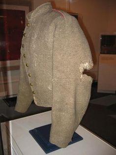 "The actual raincoat that General Thomas ""Stonewall ..."