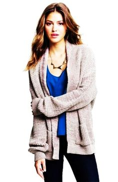 Batwing Oversized Cardigan Sweater - Cable Knit Oversized Cardigan ...