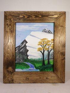 Original Acrylic Painting Landscape 11 x by StillwatersPaintings