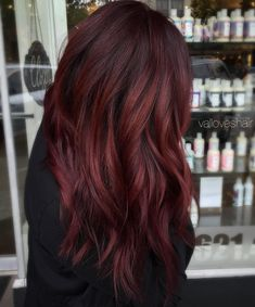 Dark Brown Hair Color with Red - Best Off the Shelf Hair Color Check more at http://frenzyhairstudio.com/dark-brown-hair-color-with-red/