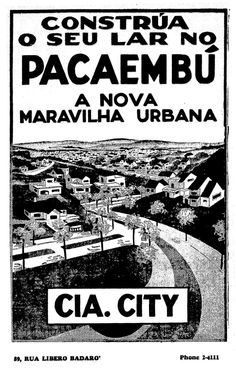 O Estado de S. Paulo, 14/11/1937 - Antes da Avenida Sumaré, o local era conhecido como Pacaembu