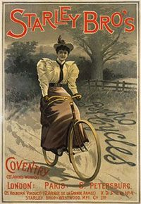 Psycho Ladies Bicycle: The First Bike ForWomen