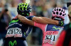 l #Giro @Movistar_Team #ColombiadeRosa