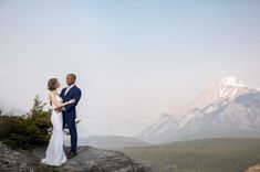 Classy Banff Elopement + Alberta + Rocky Mountain Bride + 34 Zion National Park, National Parks, Landscape Background, Sweetest Day, Beautiful Sites, Elopement Inspiration, Mountain Landscape, Banff, Rocky Mountains