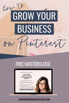 Are you struggling with getting traffic to your website? Do you have great content, services and products, but you need more eyes on your site? And, what about your leads? Do you ever feel like you've exhausted your list?  If you have said yes to any of these questions, then you should be looking at Pinterest. Pinterest is now the #1 traffic referral for my business.  Let me teach you how to grow your online business with Pinterest. JOIN THE FREE MASTERCLASS #pinterest #pinterestbusiness Affiliate Marketing, Inbound Marketing, Business Marketing, Online Marketing, Content Marketing, Growing Your Business, Starting A Business, Business Planning, Business Tips