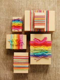 super cute idea, I did it once for my cousin and he loved it!! He wanted to save every ribbon piece.