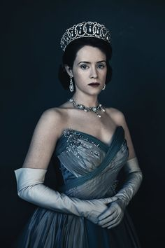 Claire Foy as Queen Elizabeth ll, In Netflix' 'The Crown', 2016.