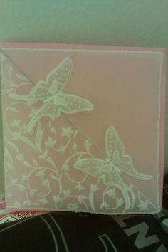 Parchment Card Butterflies
