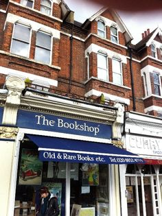Bookshop on the Heath, Blackheath - a real gem of a bookshop in southeast London, which has been there since 1949. They had a fabulous display of vintage children's books in one window (pretty sure the Enid Blytons featured heavily), and an old map of Greenwich in another.