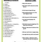 A list of questions and prompts to guide your students while reading their Historical Fiction texts.    Prompts give students a differentiated opti...