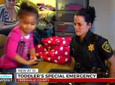 Toddler Dials 911 Because She Can't Put On Her Trousers