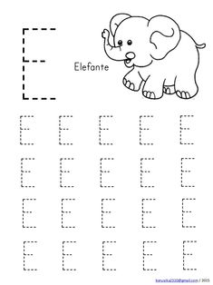 Handwriting Worksheets For Kids, Preschool Number Worksheets, Preschool Writing, Preschool Learning Activities, Alphabet Worksheets, Preschool Printables, Kindergarten Worksheets, Tracing Worksheets, Alphabet Writing Practice