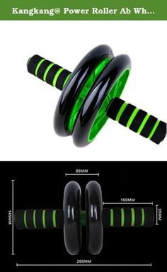 Kangkang@ Power Roller Ab Wheel Collect Waist Abdomen Round Fitness Equipmentabdominal Weight Loss Equipment Men Belly in Tandem Household Exercise Fitness Equipment Abs Wheel Health Abdomen Round Mute Pulley. -Ships from Hong Kong. Wear-resisting material, promote widened design, very stable, Super durable mute, environmental protection, do not hurt the floor.The abdomen/thin abdomen/health. Let's get together for health movement began.